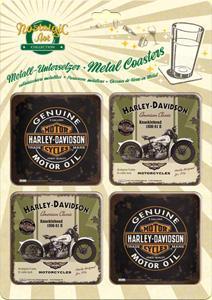 Harley Davidson pohár alátét készlet