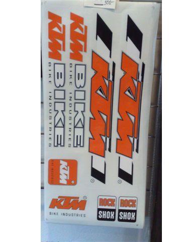 KTM matrica szett