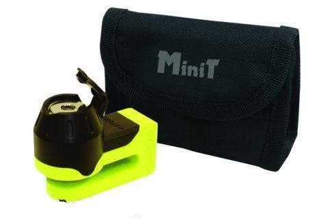 Oxford Féktárcsazár MINI-T UV sárga OF49
