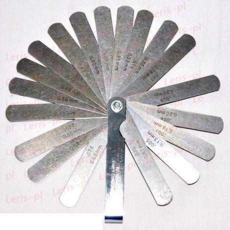 Szelephézag állításhoz hézag mérő szerszám 0.04-0.63 mm